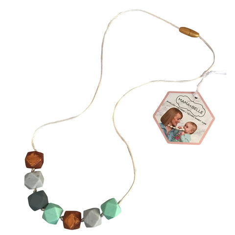 Aurora Mint Teething Necklace