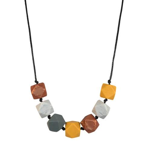 Aurora Mustard Teething Necklace
