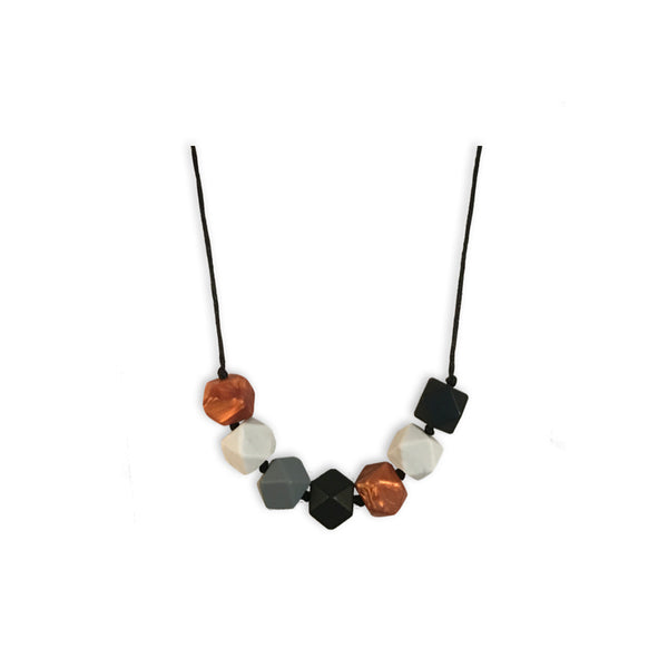 Aurora Onyx Teething Necklace