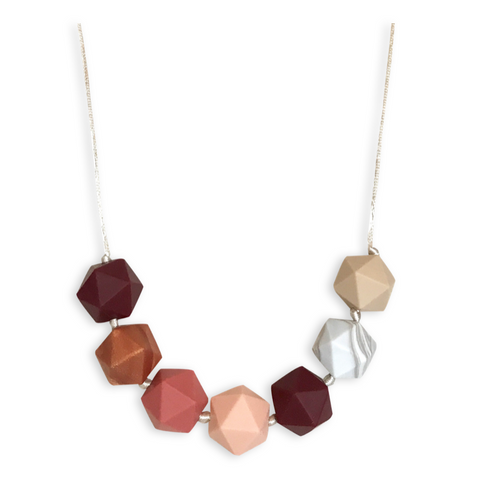 Ava Ruby Port Teething Necklace