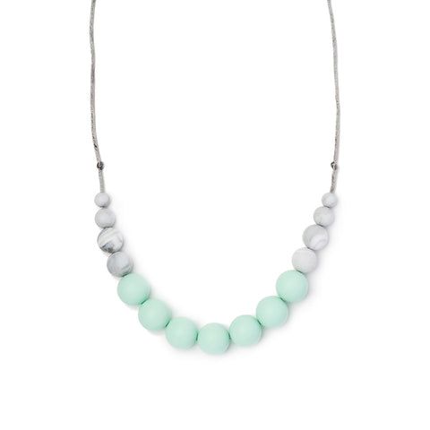 Betty Teething Necklace - Mint