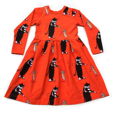 Dancing Cat & Mouse Dress