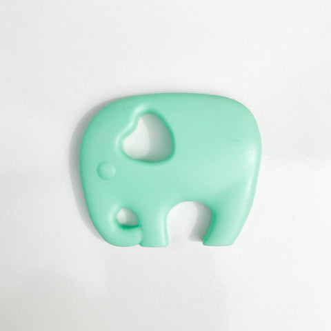 Elephant Teether - Mint