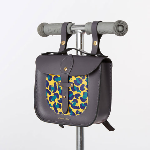 Rocket Scooter Satchel - Leopard
