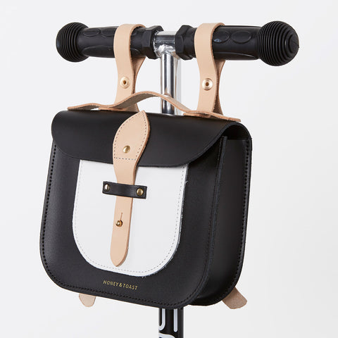 Rocket Scooter Satchel - Monochrome & Nude