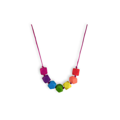 Kids Rosie Rainbow Necklace
