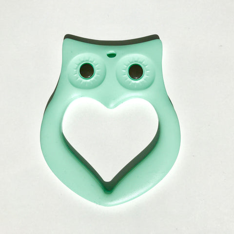 Owl Teether - Mint