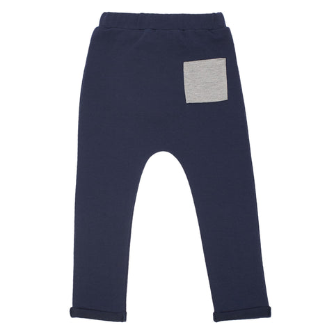 Into the Square Trousers - Blue