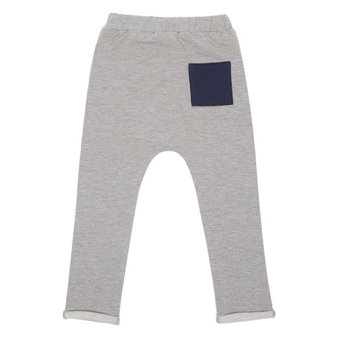 Into the Square Trousers - Grey