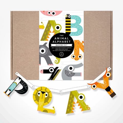 The Animal Alphabet Banner Kit
