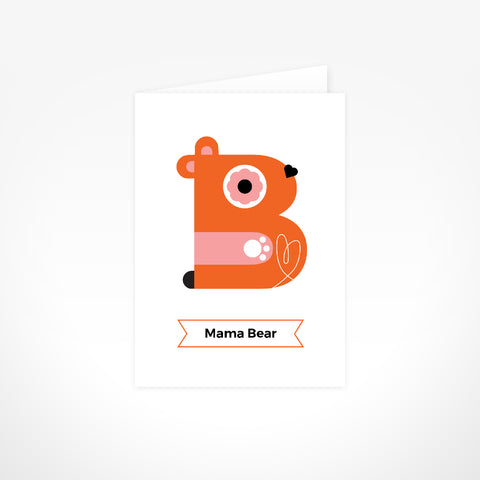 Greeting Card - Mama Bear