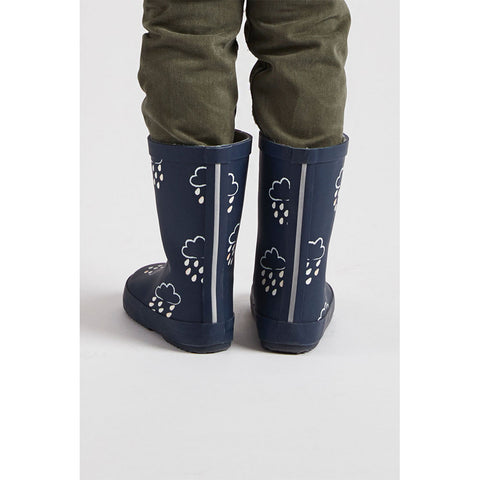 Little Kids Navy Colour - Revealing Wellies
