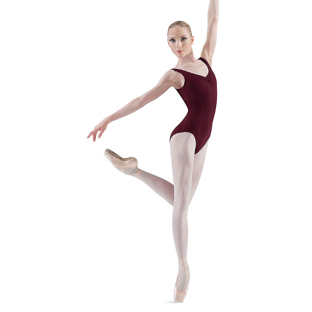 Pinched Front High Back Tank Leotard by Bloch