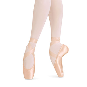 European Balance Strong Ballet Pointe Flats by Bloch