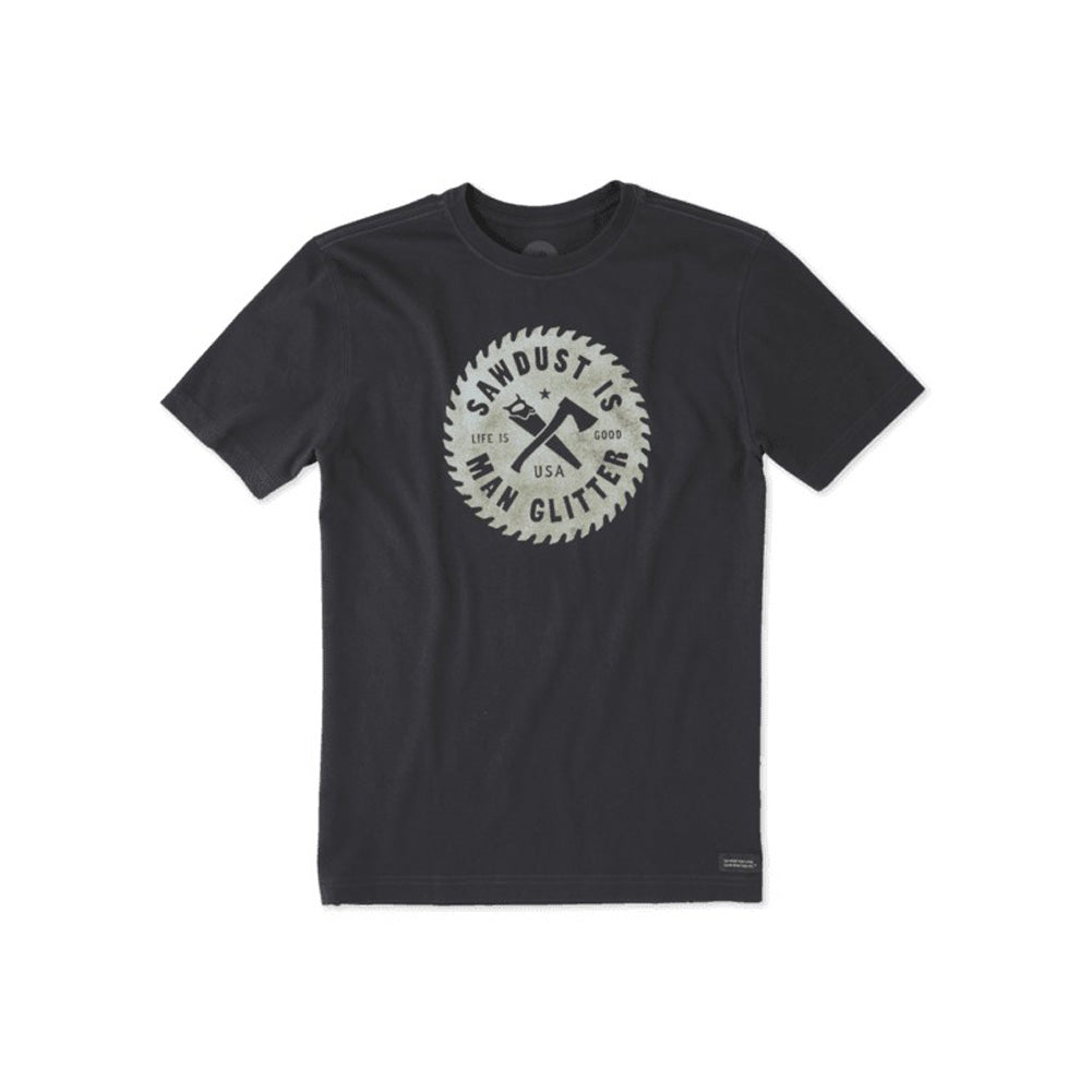 Sawdust Glitter Crusher T-Shirt by Life is good