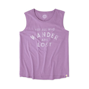 Wander Lost Muscle T-Shirt by Life is good