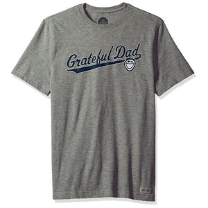Grateful Dad Crusher T-Shirt by Life is good