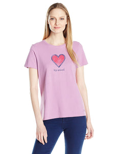Heart Crusher T-Shirt by Life is good