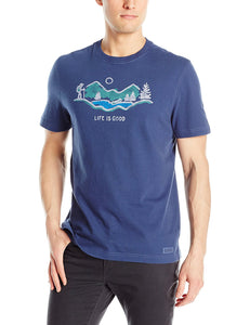 Hike Mountain Vista Crusher T-Shirt by Life is good