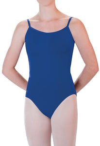 Adjustable Strap Cami Leotard by Motionwear
