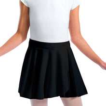 Pull-On Wrap Sheer Skirt by Motionwear