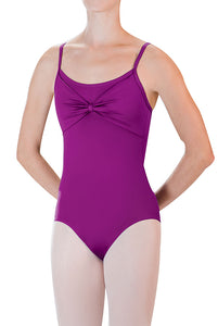 Drape Front Cami Leotard by Motionwear