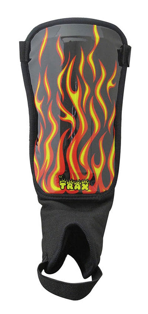 Flames Shin Guards by Trax