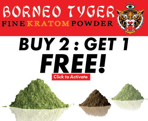 Buy any 2 Bags of Kratom and get the third FREE!