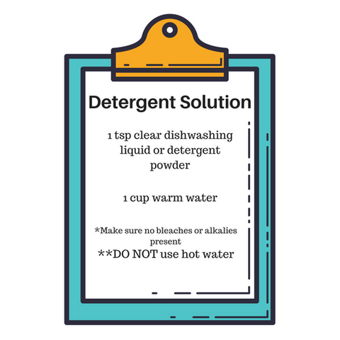 DIY Detergent Solution Recipe