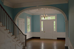 Colonial Revival Entryway
