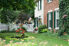 Colonial Revival Landscaping