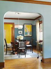 Interior craftsman color palette - Modern Bungalow