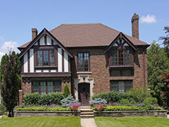 Tudor Revival Landscaping