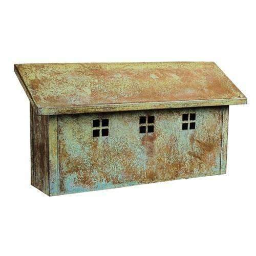 Arroyo Craftsman Exterior Decor Glasgow Horizontal Mail Box
