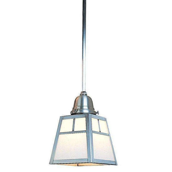 a-line shade one light stem mount pendant by arroyo