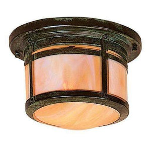 Arroyo Craftsman Exterior Lighting Berkeley flush ceiling mount