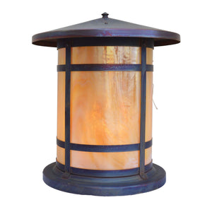 Arroyo Craftsman Exterior Lighting Berkeley long body column mount