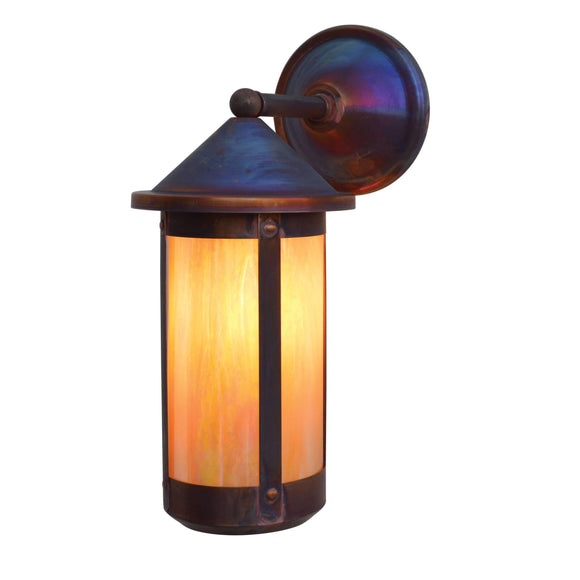 Arroyo Craftsman Exterior Lighting Berkeley long body wall mount - wet rated