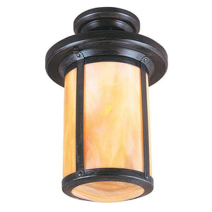 Arroyo Craftsman Exterior Lighting Berkeley semi-flush mount