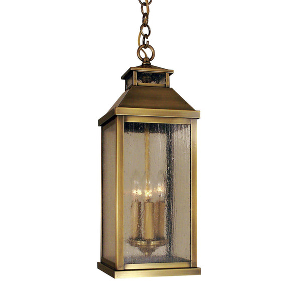 Arroyo Craftsman Exterior Lighting Canterbury long body pendant