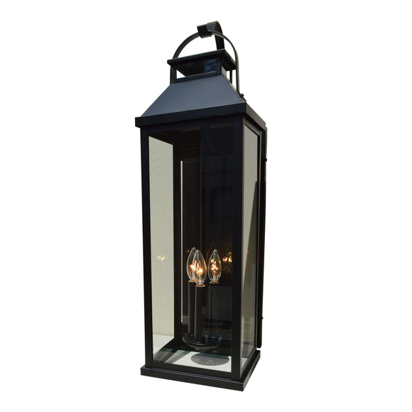 Arroyo Craftsman Exterior Lighting Canterbury long body wallmount