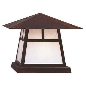 Arroyo Craftsman Exterior Lighting Carmel column mount