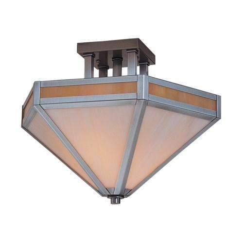 Arroyo Craftsman Exterior Lighting Etoile inverted ceiling mount