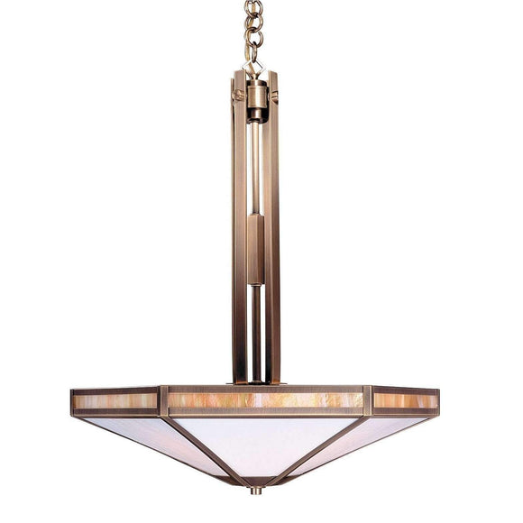 Arroyo Craftsman Exterior Lighting Etoile inverted chandelier