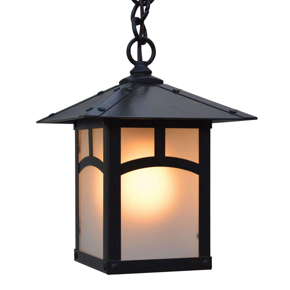 Arroyo Craftsman Exterior Lighting Evergreen pendant