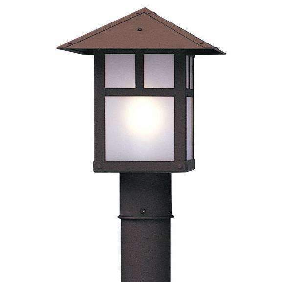Arroyo Craftsman Exterior Lighting Evergreen post mount