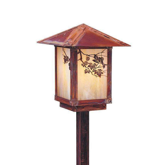 Arroyo Craftsman Exterior Lighting Evergreen stem mount