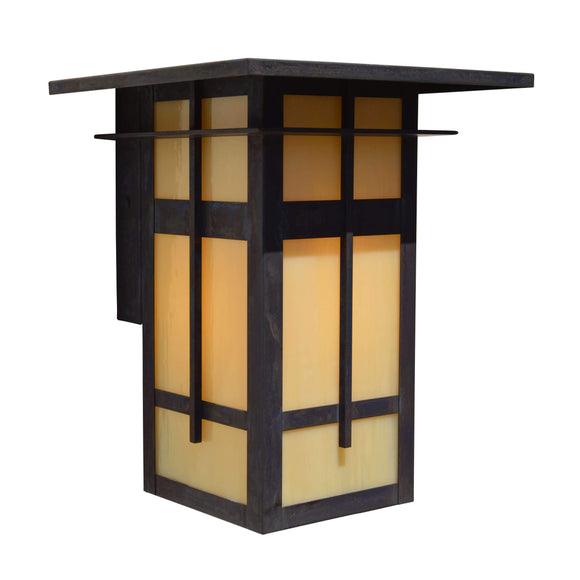Arroyo Craftsman Exterior Lighting Finsbury flush wall mount