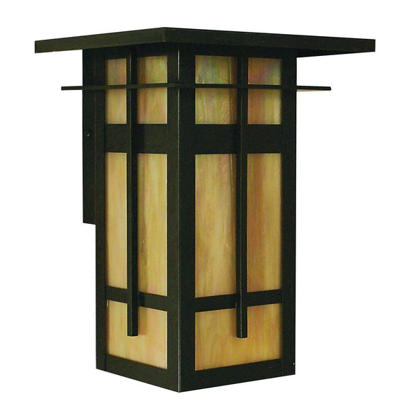 Arroyo Craftsman Exterior Lighting Finsbury long body flush wall mount