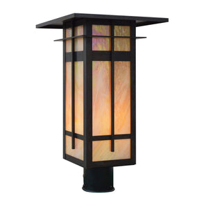 Arroyo Craftsman Exterior Lighting Finsbury long body post mount